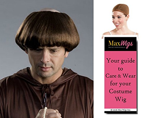 Friar Tuck Costumes - Monk Friar Tuck color BROWN -