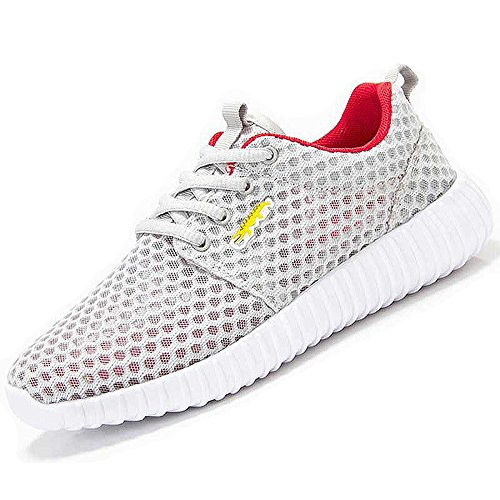 Unisex Breathable Athletic Mesh Shoes – For Tennis, Golf, Bowling , Cycling & Casual Walking X278-43W by MOZOEYU