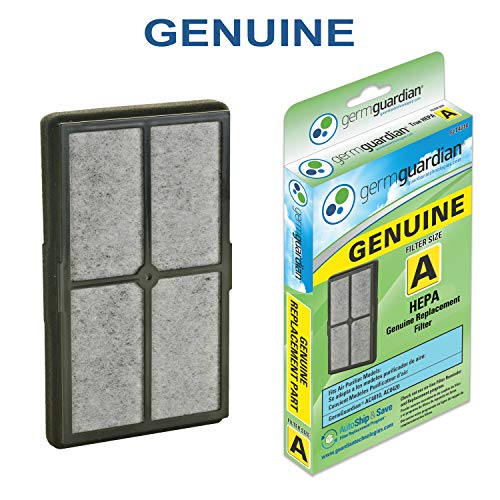 Germ Guardian FLT4010 GENUINE High-Performance Allergen Air Purifier Replacement Filter A for GermGuardian AC4010, AC4020 and More