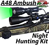 Wicked Lights A48IC Night Hunting Kit With Green Intensity Control LED for Predator, varmint & Hog complete Green led light kit Review