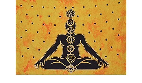Amazon.com: Sophia-Art Indian Yoga Mat Beach Throw Wall ...