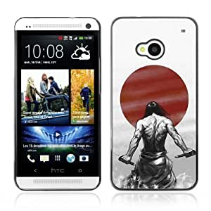 [Japanese Samurai Warrior] HTC One M7 Case