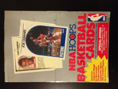 1989 NBA Hoops Basketball Cards Official