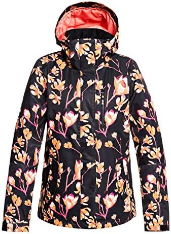 Roxy Torah Bright Jetty Womens Snow Jacket Small True Black Magnolia