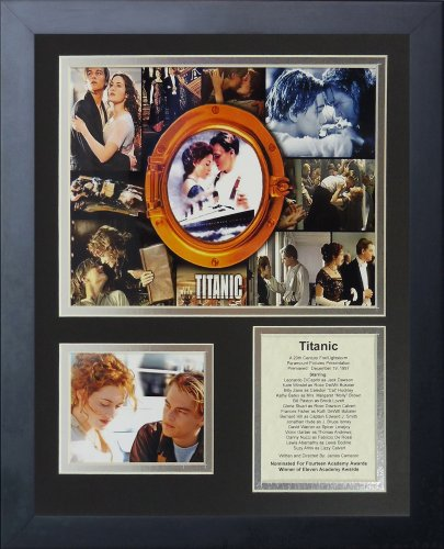 """Legends Never Die """"Titanic Framed Photo Collage, 11 x 14-Inch"""