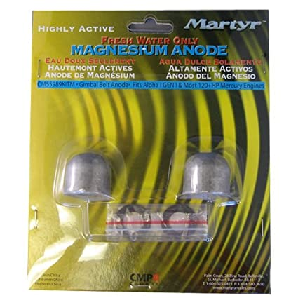 Martyr CM55989KITM, Magnesium Alloy Mercury Anode Kit