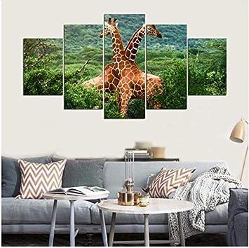 LQWE 3D Leinwandbild Dekor Leinwand Wandkunst Hd Bilder Wohnzimmer ...