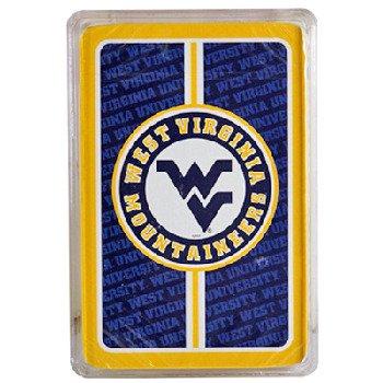 West Virginia Mountaineers Tailgater Mat - NCAA West Virginia Mountaineers Bullseye Playing Cards