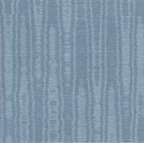 (Dollhouse Wallpaper Mini Moire Wedgewood by Mini Graphics)