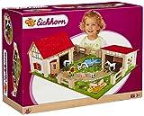 Eichhorn - 100004308 - Ferme en bois - Accessoires inclus - 25 pièces