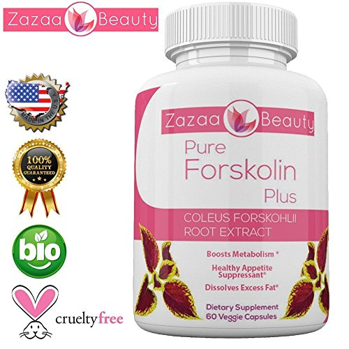 Cheap Pure 20% Forskolin For Weight Loss Supplement For Women & Men 60 Veggie Capsules-appetite suppressant-metabolism booster-Natural Coleus Forskohlii Add To Cart Now – 100% Guaranteed By Zazaa Beauty
