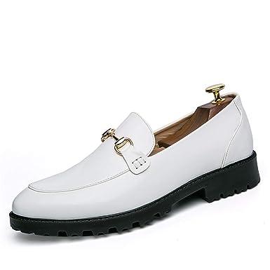 b767d8d3368d Amazon.com: Hilotu Men's Fashion Oxford Dress Shoes Casual Boat ...