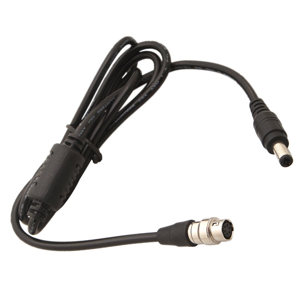 MagiDeal DC12v to 6 Pin Hirose Cable AF100 GH2 Power B4 2/3'' for Fujinon Canon Lens by MagiDeal