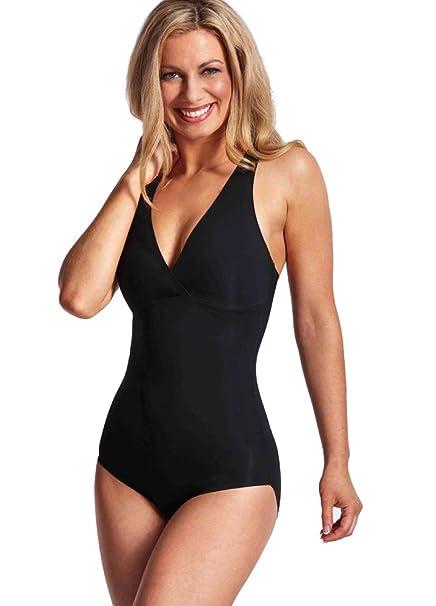 0390e10d2e8a0 LaSculpte Women Seamless Tummy Control Shapewear Bodysuit Microfiber ...