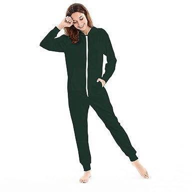 90b864648e1a49 FRAUIT Damen Mode Trainingsanzug mit Kapuze Langarm Onesie Sweatshirt  Conjoined Home Service Sport Jumpsuit Overall Strampler
