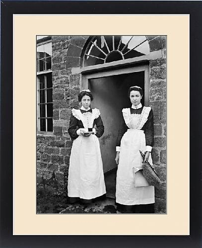 1960's Costumes Australia (Framed Print of Maids BB98 06062)