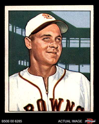 1950 Bowman # 190 CR Ken Wood St. Louis Browns (Baseball Card) (with Copyright on Back) Dean's Cards 4 - VG/EX Browns