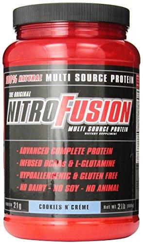 Plant Fusion Nitro Fusion Supplement, Cookies and Cream, 2 Pound