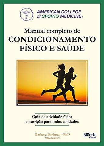 Manual completo de condicionamento físico e saúde do ACSM (Portuguese Edition) - Others Service Manual