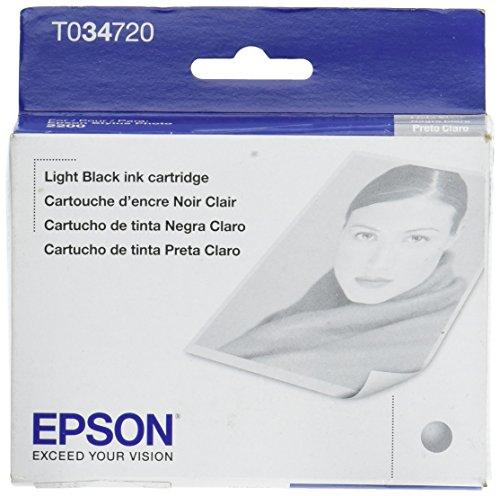 Epson 7 Color Ink Set with Matte Black for The Stylus Photo 2200 - Light Cartridge Black 2200 Ink