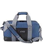 Lewis N. Clark حقيبة متينة كبيرة مصنوعة من القماش الخشن للنساء والرجال ، كاري اون ، حقيبة الصالة الرياضية القماش الخشن