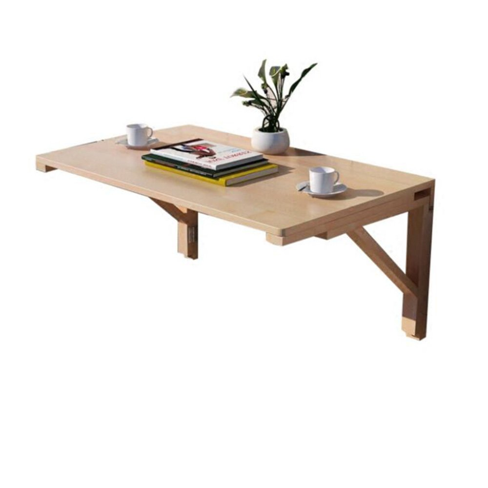 Solid wood bracket 8040CM Solid Wood Folding Table Wall-Mounted Table
