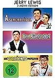 Jerry Lewis: 3-Movie-Edition ( Aschenblödel / Der Bürotrottel / Der verrückte Professor ) [3 DVDs]
