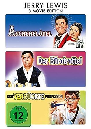 Jerry Lewis 3 Movie Edition Aschenblödel Der Bürotrottel Der