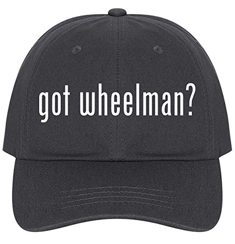 (The Town Butler got Wheelman? - A Nice Comfortable Adjustable Dad Hat Cap, Dark Grey)