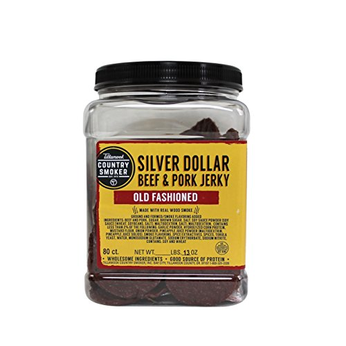 TILLAMOOK Silver Dollars - Beef & Pork Jerky (Old Fashioned)80 count/.13oz