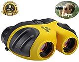 Binoculars for Kids,ANRAY 8 x 21 Outdoor Mini Compact Telescope, Animal Wildlife or Scenery,Game Watching,Image Stabilized Type Binocle, Best Gift for Children (Yellow)
