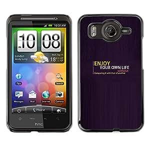 Disfruta de tu vida OYAYO HTC G10 //Dise?os frescos para todos los gustos! Top muesca protección para su teléfono inteligente!