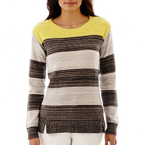liz-claiborne-long-sleeve-striped-rugby-sweater-various-size-xl
