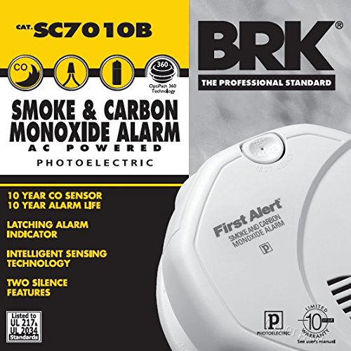 First-Alert-SC7010B-Hardwire-Photoelectric-Smoke-and-Carbon-Monoxide-Alarm-with-Battery-Backup