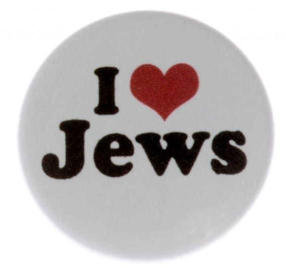 Amazon At Designs Unisex I Love Jews 125 Pinback Button