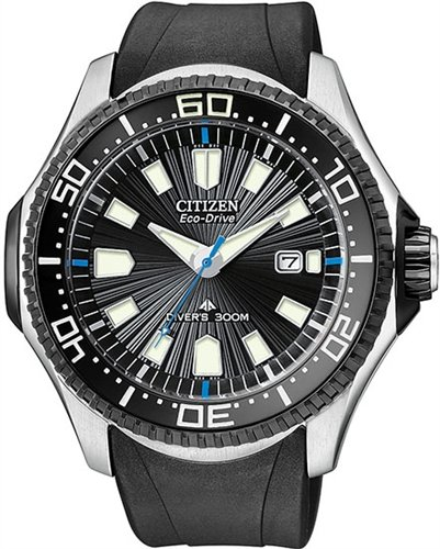 Mens Watch Citizen BN0085-01E Promaster Stainless Steel Promaster Eco-Drive Dive
