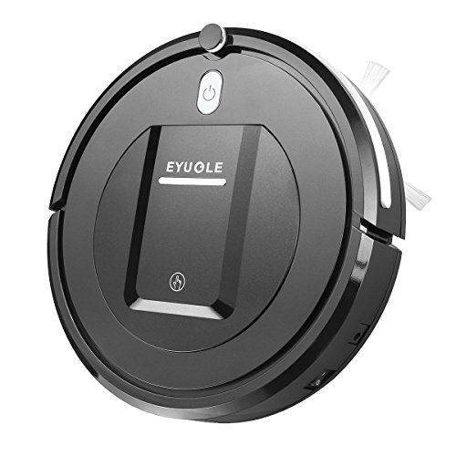 Eyugle Robot Vacuum Cleaner Sweeping Machine 500pa Suction 3 Cleaning Mode 5cm Anti-Falling Anti-Collision