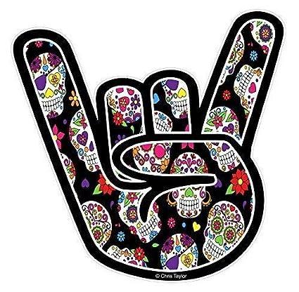 Roca en Mano Diseño con Estilo Tatuaje Mexicano Calavera Diseño ...