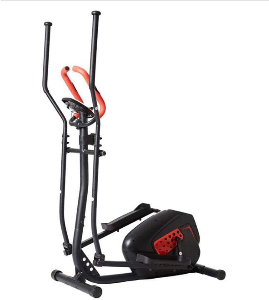 QZAA-Inicio Bicicleta Elíptica Bicicleta Giratoria con Monitor de Frecuencia Cardíaca Entrenador de Ejercicios Abdominales Equipo de Ejercicios Aeróbicos Entrenador de Ejercicios
