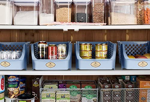Titan Mall alimentos cajas de almacenamiento apilables Cajas de ...
