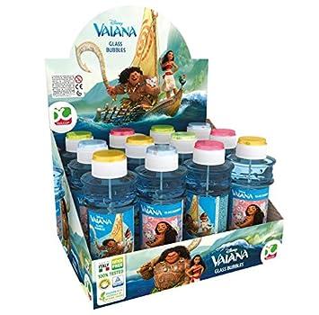 Disney Vaiana Dulcop 403153000 - Set de pompas de jabón (12 ...