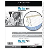 "AT-A-GLANCE 2019 Daily Planner Refill, Day Runner, 8-1/2"" x 11"", Folio Size 5, One Page Per Day, Loose Leaf (491-125)"