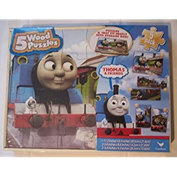 Amazon Com Thomas The Tank Engine 7 Pack Wood Puzzles