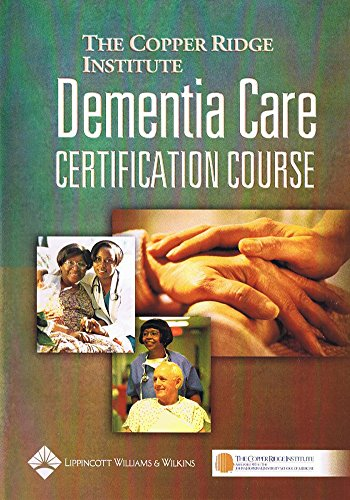 Dementia Care Certification Course by Brand: Lippincott Williams n Wilkins