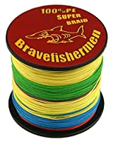 Colors Super Strong Pe Braided Fishing Line (500m, 10lb)