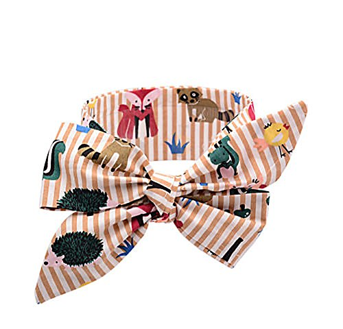 Price comparison product image mk. park - Kids Girl Baby Toddler Bow Headband Hair Band Accessories Headwear Head Wrap (2)