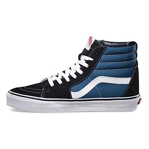 Vans Unisex SK8-Hi(tm) Core Classics Navy Sneaker Men's 10, Women's 11.5 Medium