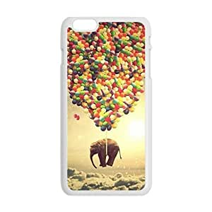 Elephant and colorful balloon Cell Phone Case for iPhone plus 6