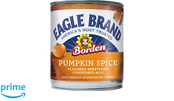 Amazon.com : Eagle Brand Sweetened Condensed Milk, Pumpkin Spice, 14 Ounce : Grocery & Gourmet Food
