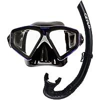 Kit Mergulho Máscara+snorkel Cetus Rapallo Fun